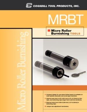 微滚压头(Roll-a-Finish) 滚压头工具 MRBT 手册