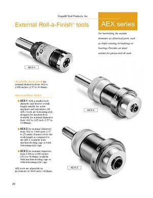 Cogsdill AEX Series External Roller Burnishing Tools