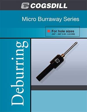 微型布拉威(Micro-Burraway) 去毛刺工具